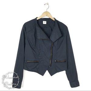 CAbi Twilight Grey Moto Jacket